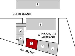 Milano | Piazza dei Mercanti | Scuole Palatine